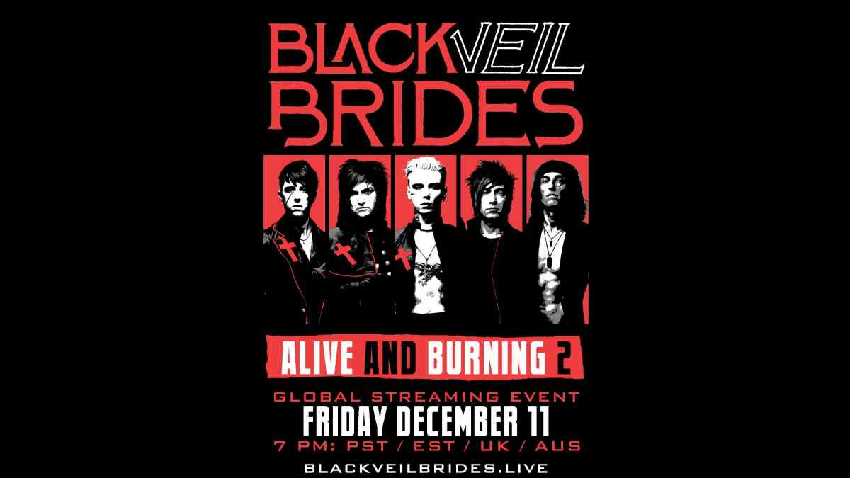 Black Veil Brides Announce Alive And Burning 2 Streaming Event