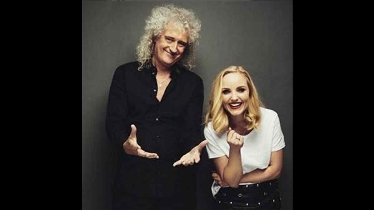 Brian May And Kerry Ellis Team Up For 'One Beautiful Christmas Day'