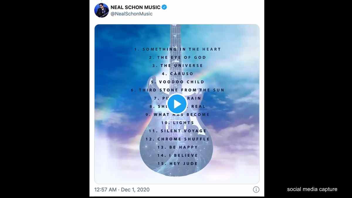 Journey's Neal Schon Shares New Album Details