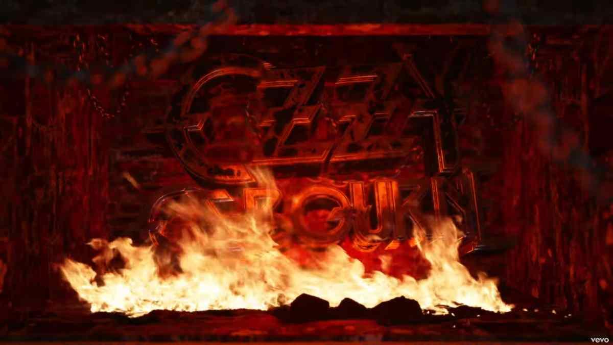 Ozzy Osbourne Streams Blizzard Of Ozzy Yule Log