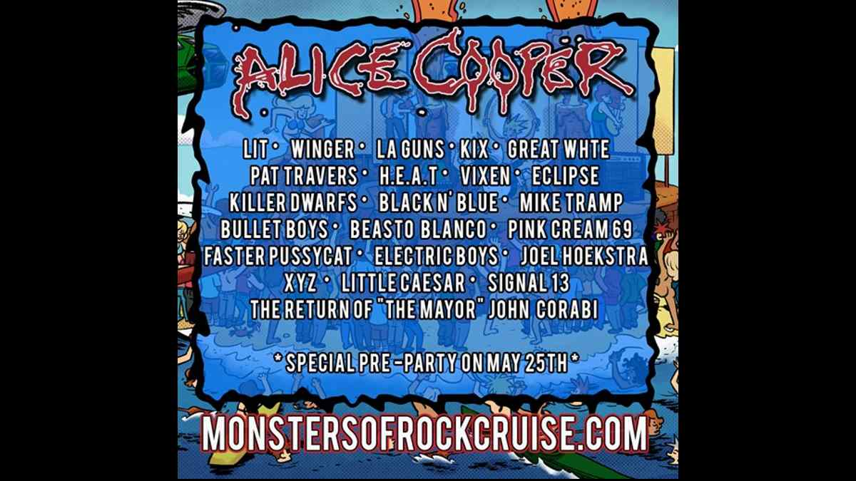 Alice Cooper Leads Operation Monster Beach Lineup