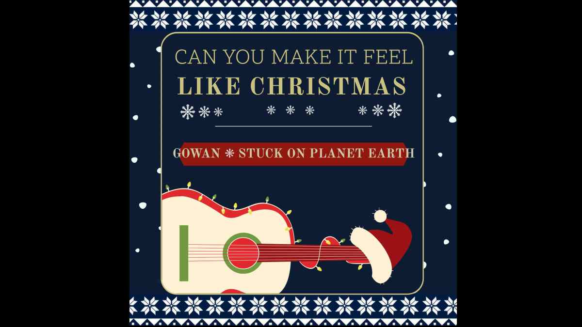 Styx Frontman and Stuck On Planet Earth Team For Christmas Rocker