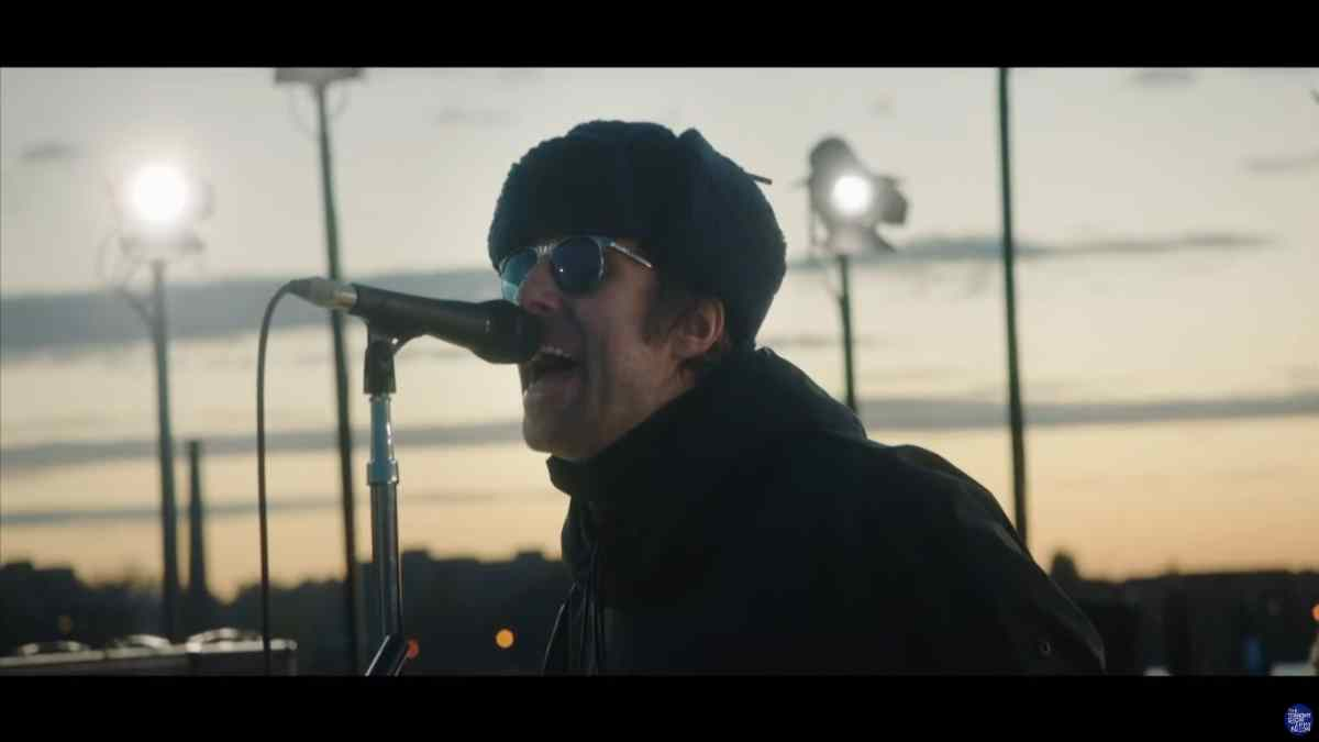 Liam Gallagher Rocks New Single On The Tonight Show