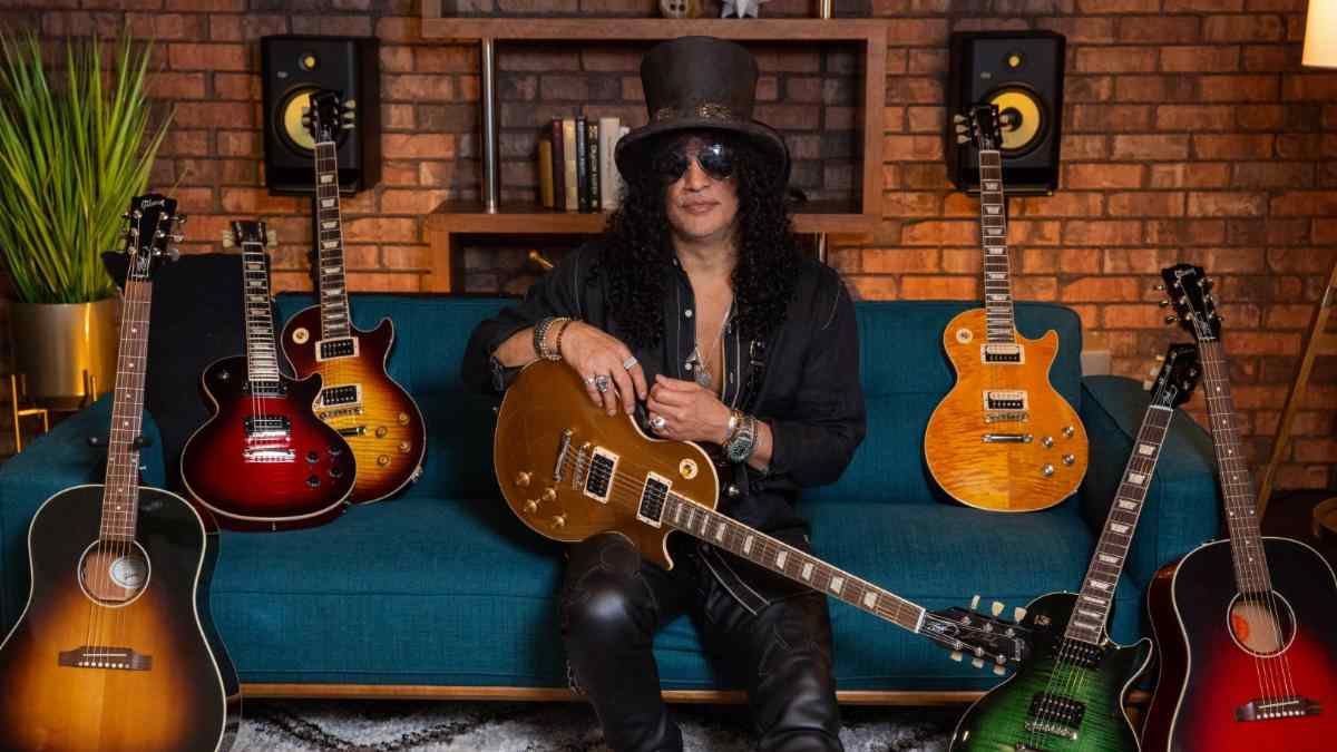 Slash 'Victoria' Les Paul Standard Goldtop Released By Gibson