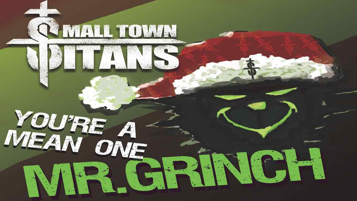 Small Town Titans Making Christmas Lists With Grinch