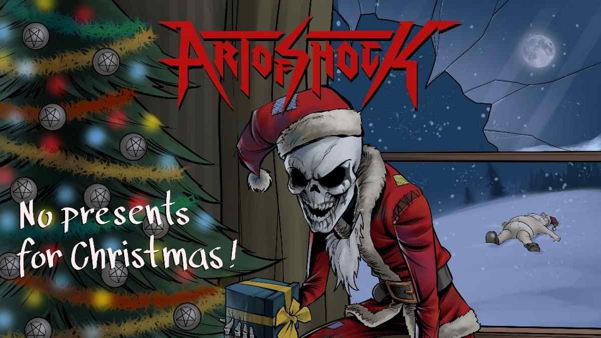 Art Of Shock Cover King Diamond's No Presents For Christmas