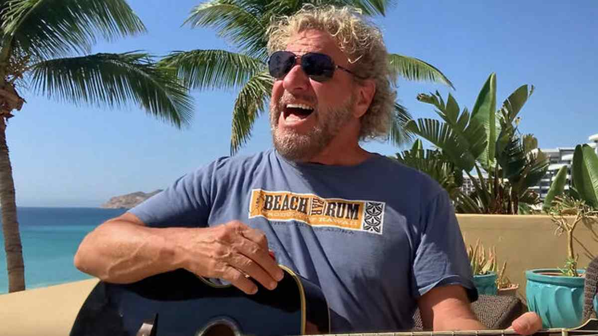 Sammy Hagar Unplugs For Livestream Benefit
