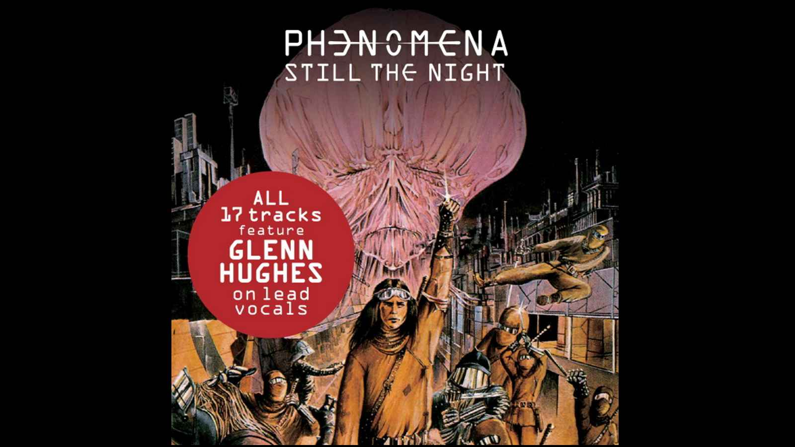 17 Glenn Hughes Tracks Featured On Phenomena Project Collection