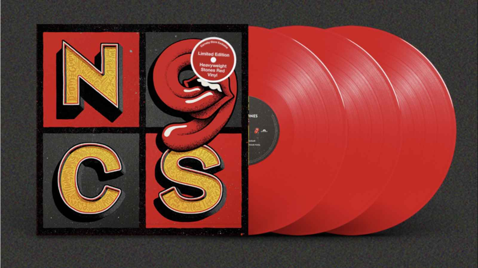 Rolling Stones Announce Limited Edition Red Vinyl