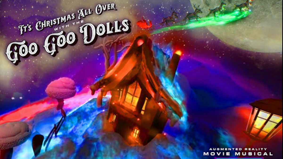 Goo Goo Dolls Preview It's Christmas All Over Livestream Special