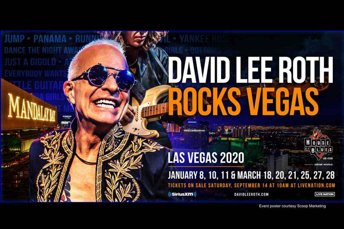 David Lee Roth Mixed Van Halen And Solo Classics At Vegas Kickoff 2020 In Review