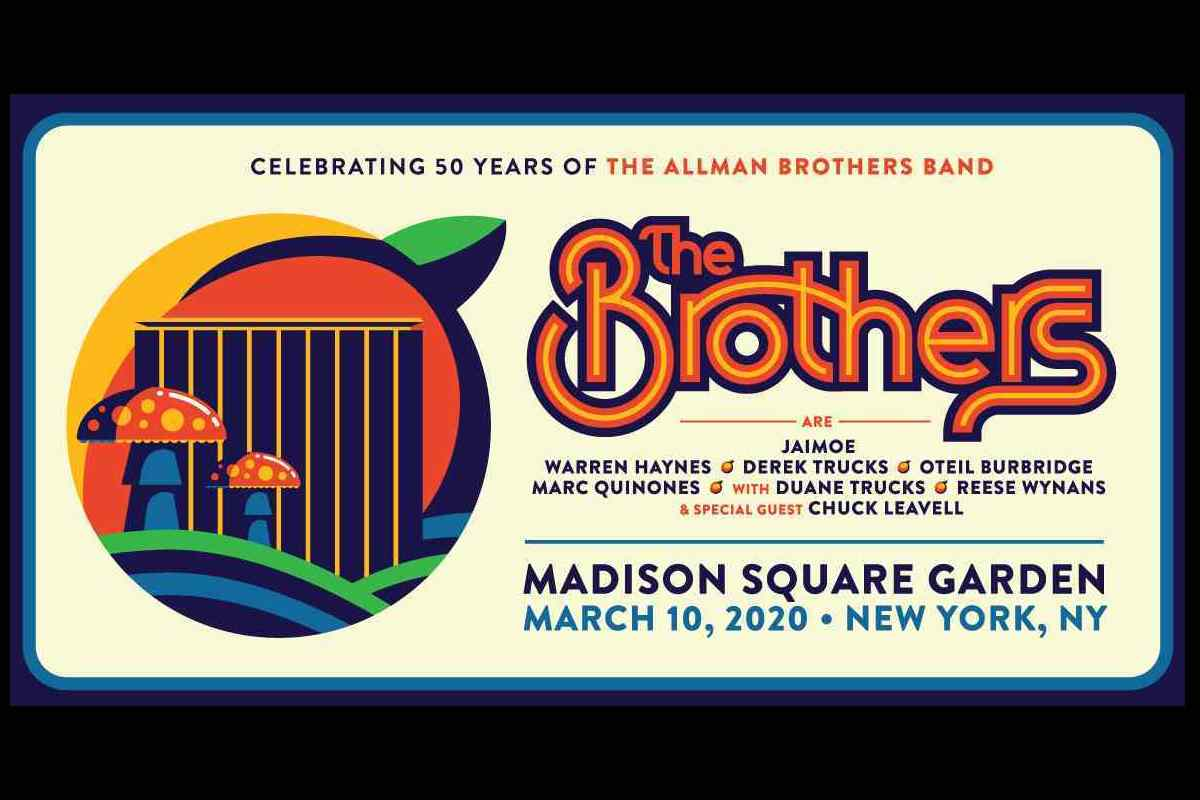 Allman Brothers Band Reunited For 50th Anniversary Concert 2020 In Review