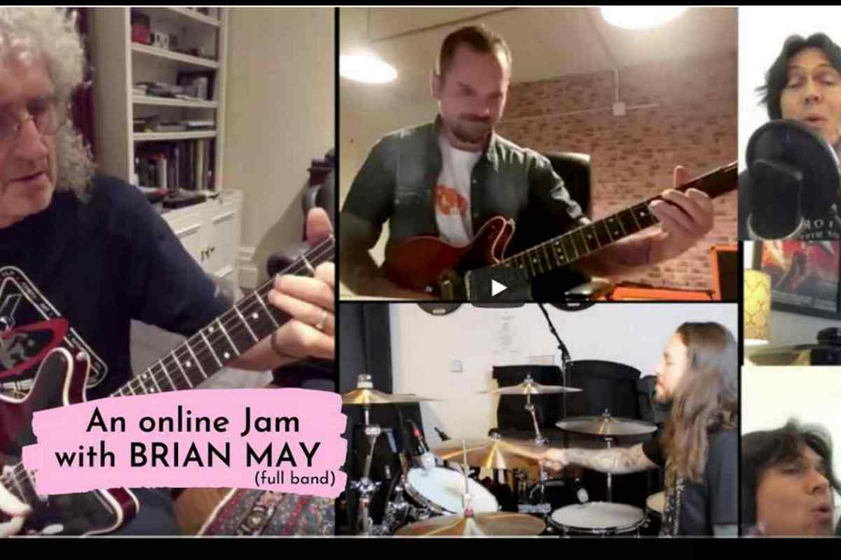 Queen's Brian May Led Worldwide Online Jam 2020 In Review