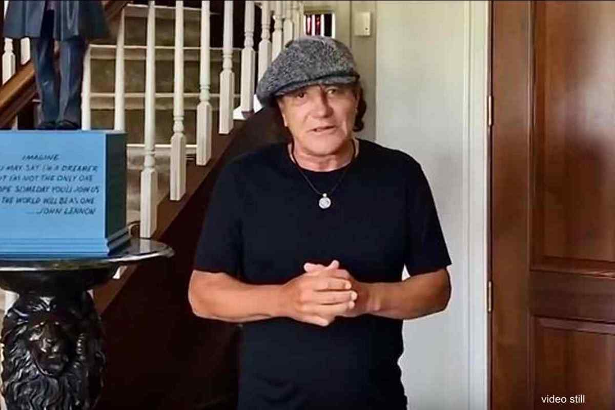AC/DC Frontman Brian Johnson Addresses Fans At Virtual Bonfest 2020 In Review