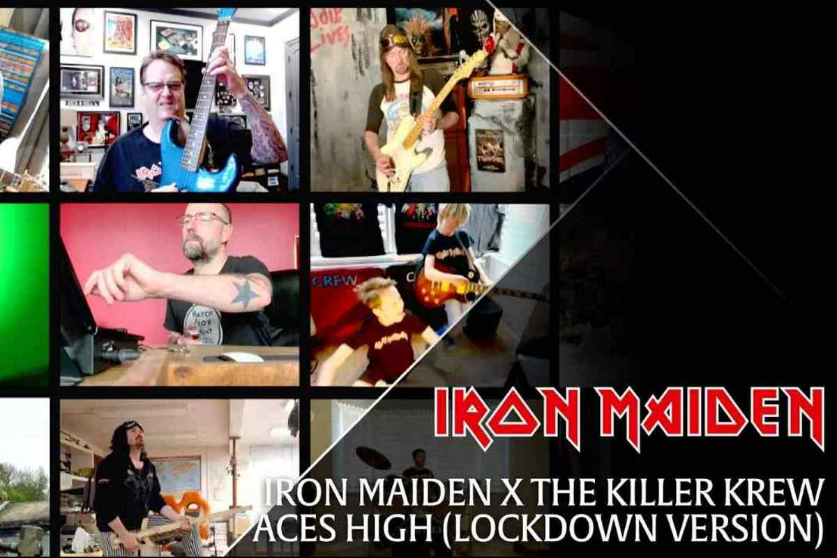 Iron Maiden Shared Killer Krew 'Aces High' Lockdown Video 2020 In Review