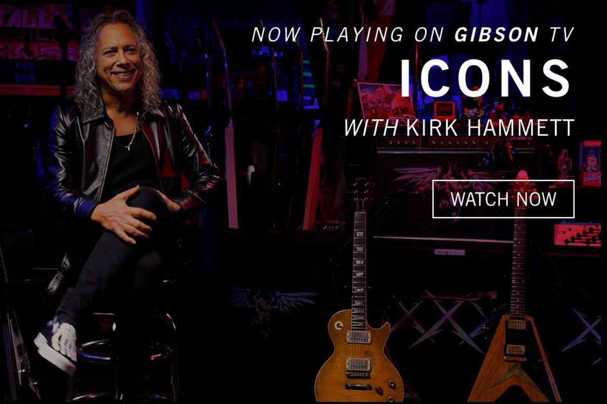 Metallica's Kirk Hammett On Latest Episode of Gibson's Icons