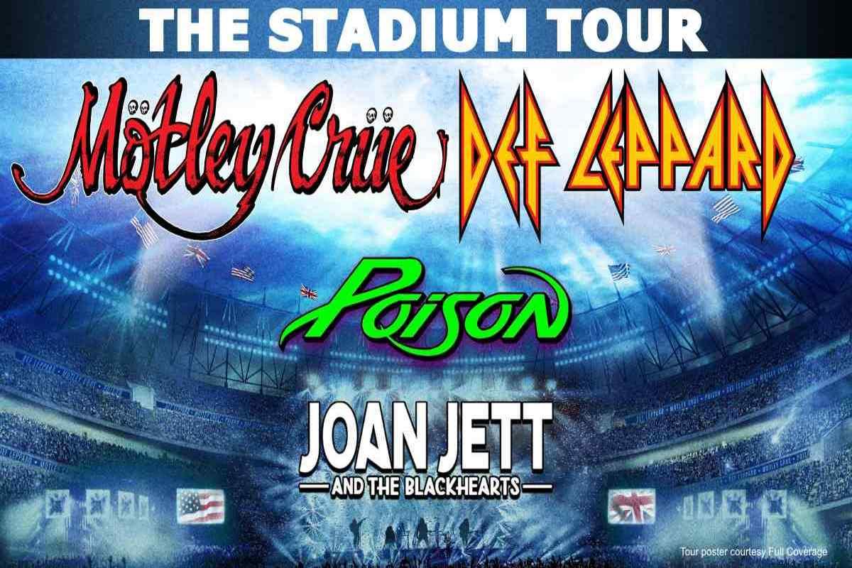 Def Leppard Guitarist Not 100 Percent Sure Motley Crue Stadium Tour Will Happen 2020 In Review