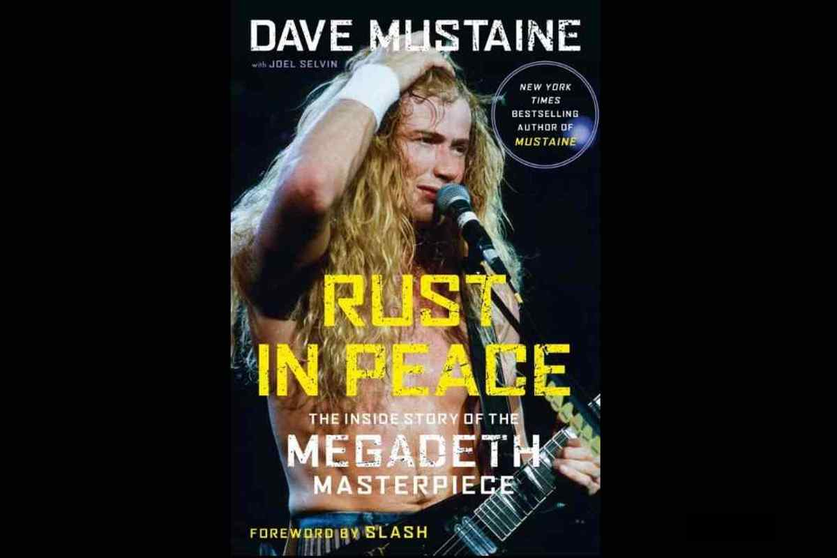Slash Pens Forward For New Book From Megadeth's Dave Mustaine 2020 In Review