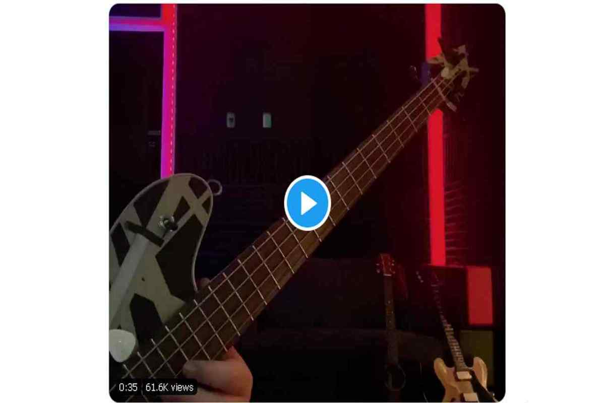 Eddie Van Halen's 'Eruption' Given Bass Makeover By Son 2020 In Review