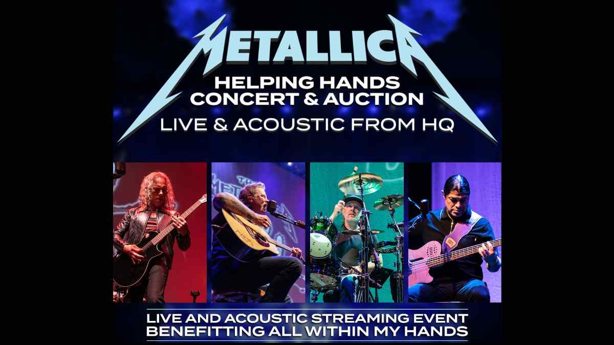 Metallica Share Video For Live & Acoustic Event
