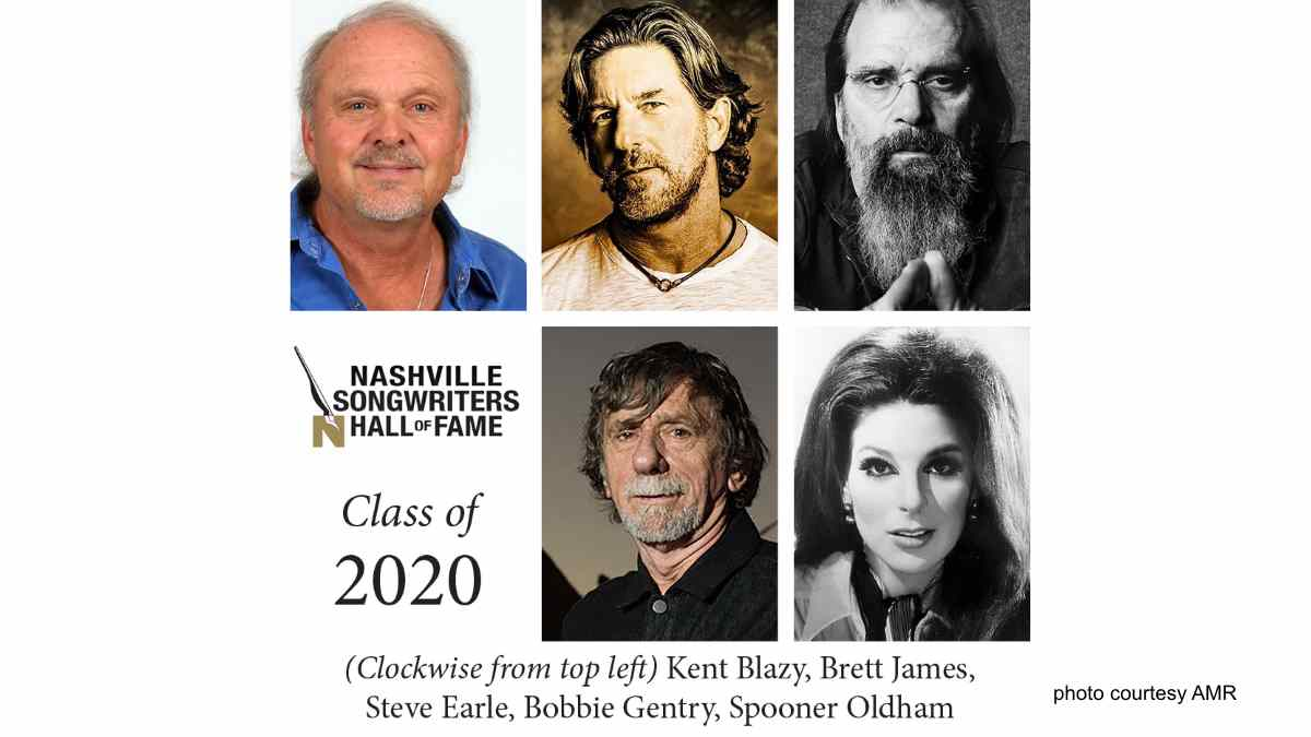 Steve Earle, Bobbie Gentry Lead Nashville Songwriters Hall of Fame Class Of 2020