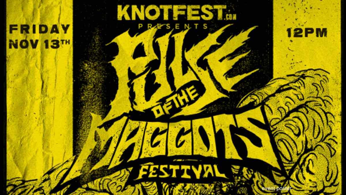Slipknot's Knotfest Announces Free Virtual Pulse of the Maggots Fest