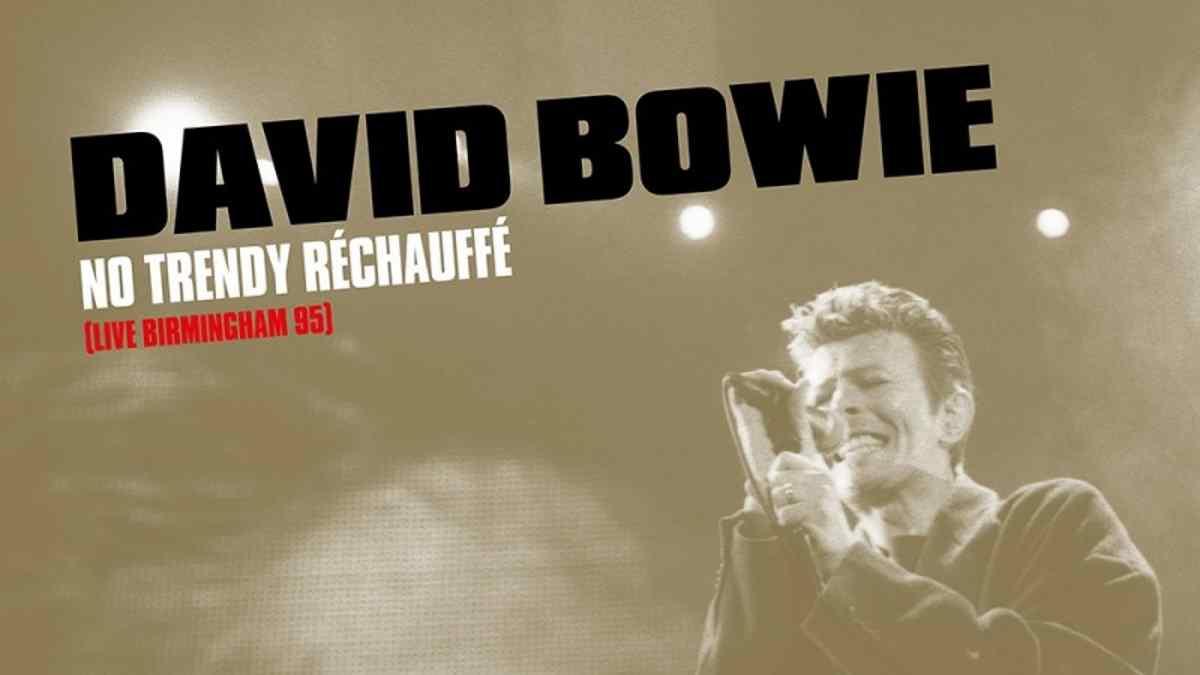 David Bowie Birmingham Live Album Set For Release