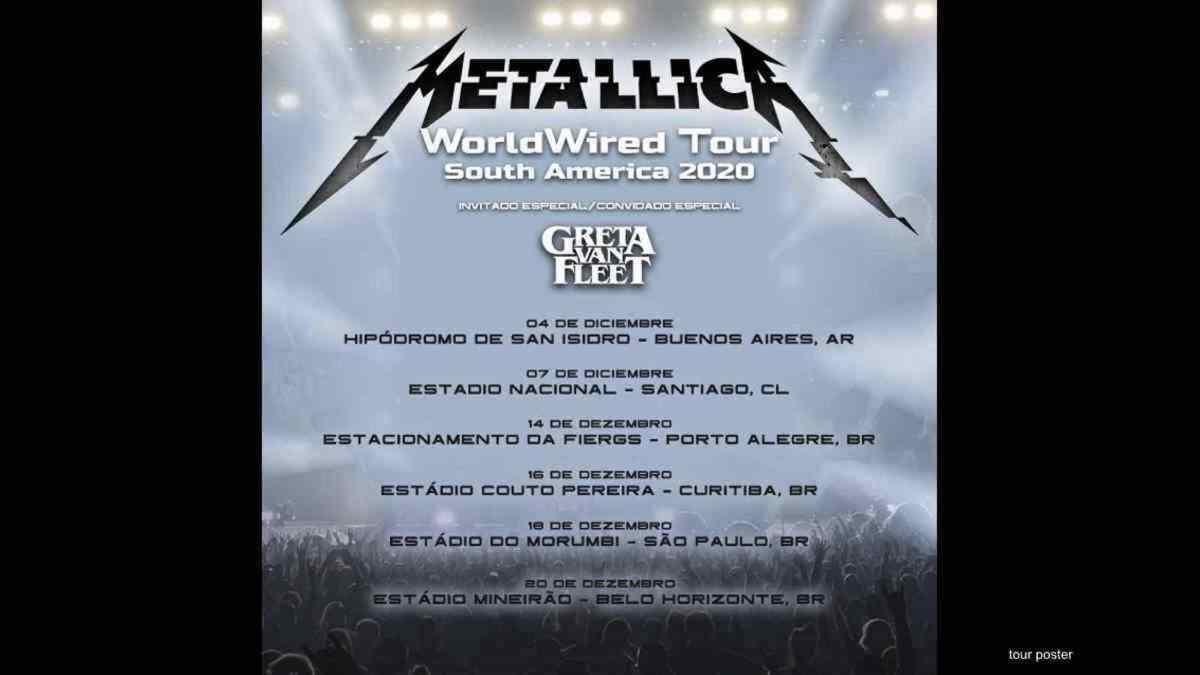 Metallica Forced To Postpone Rescheduled Tour