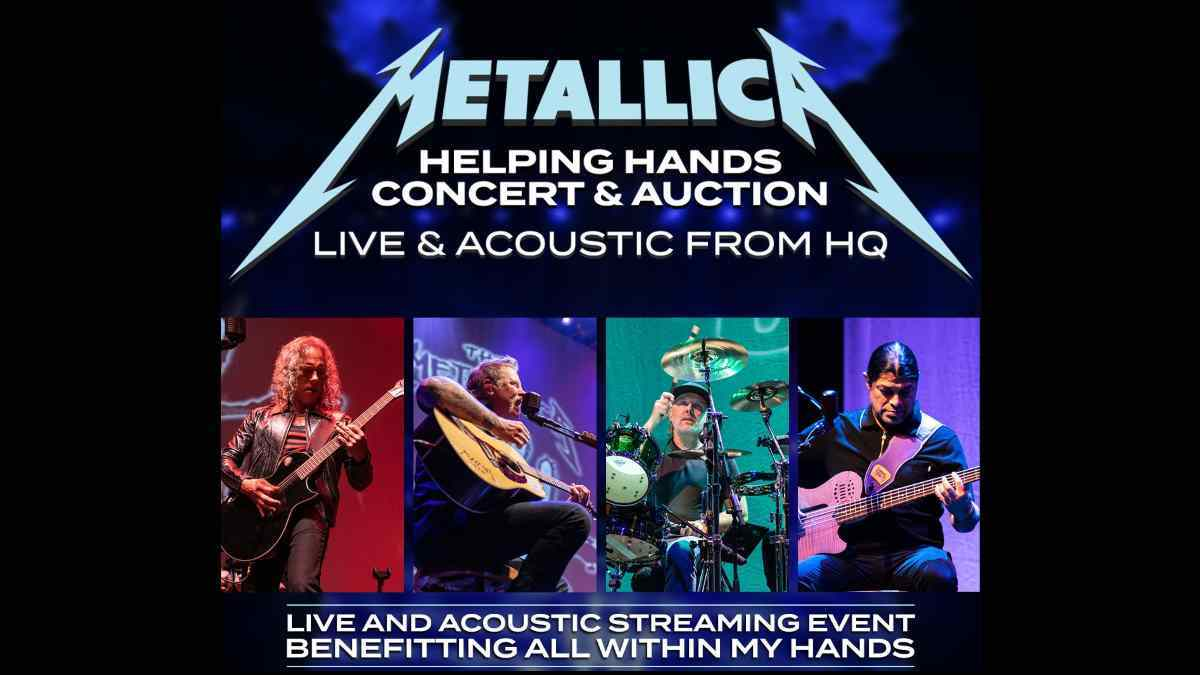 Metallica Share Video From Live & Acoustic Show
