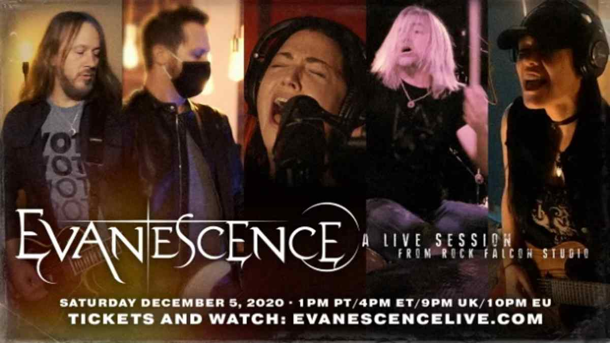 Evanescence Announce Livestream Performance