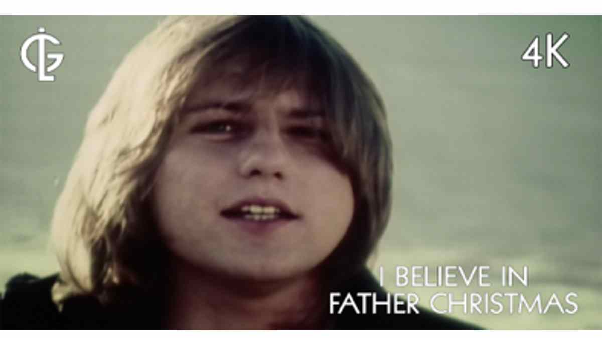 Greg Lake's 'I Believe In Father Christmas' Video Gets 4K Makeover