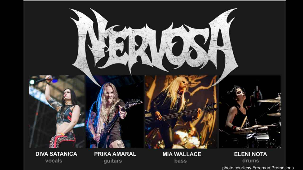 Nervosa Stream New Song 'Perpetual Chaos'
