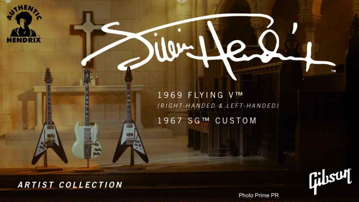 Gibson Announce Two Jimi Hendrix Signature Guitars