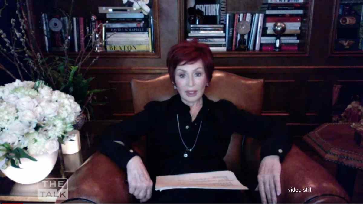 Sharon Osbourne Back In Covid-19 Quarantine
