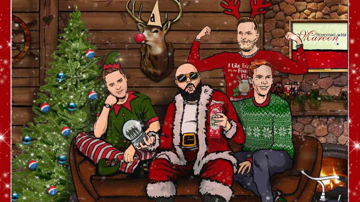 Barenaked Ladies Announce A Very Virtual Christmas Streaming Event