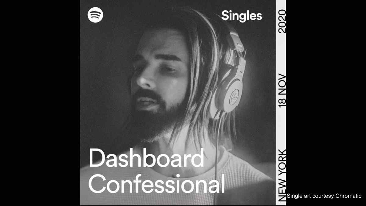Dashboard Confessional Cover Elvis Classic 'Blue Christmas'