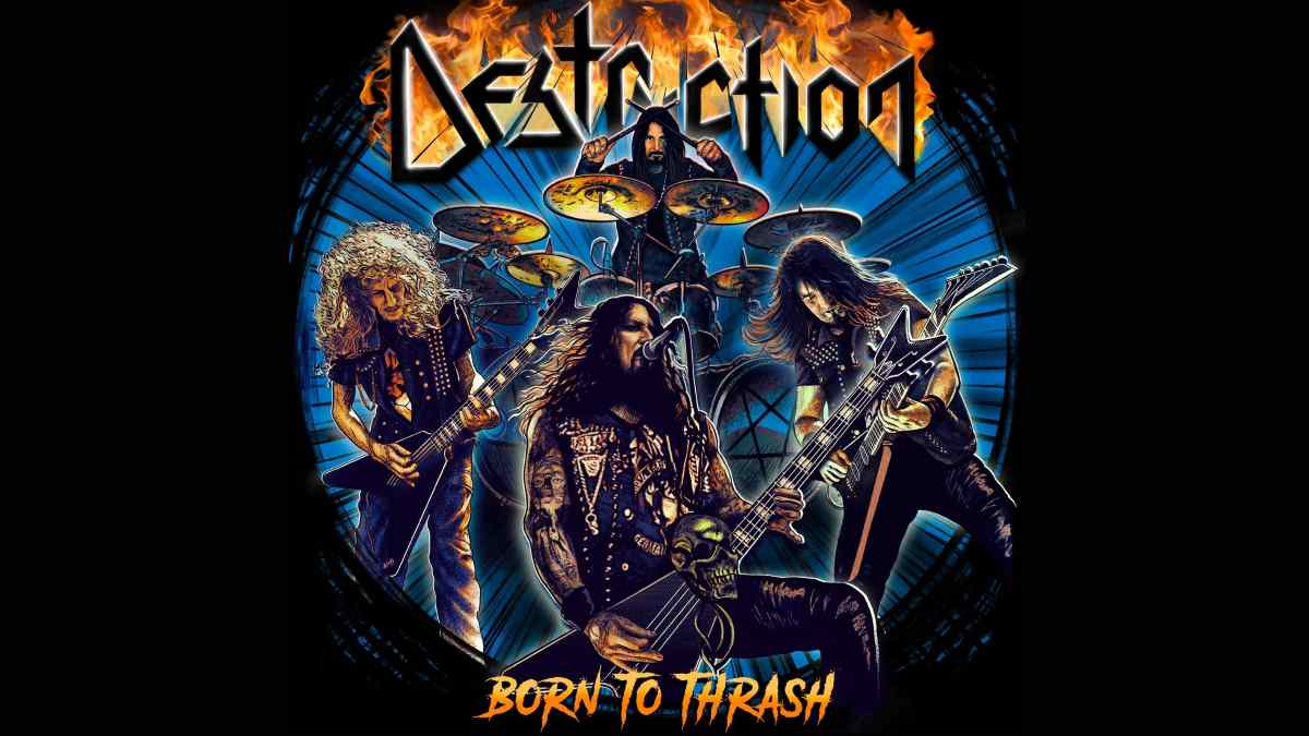 Destruction Unleash 'Born To Thrash' To U.S. Fans