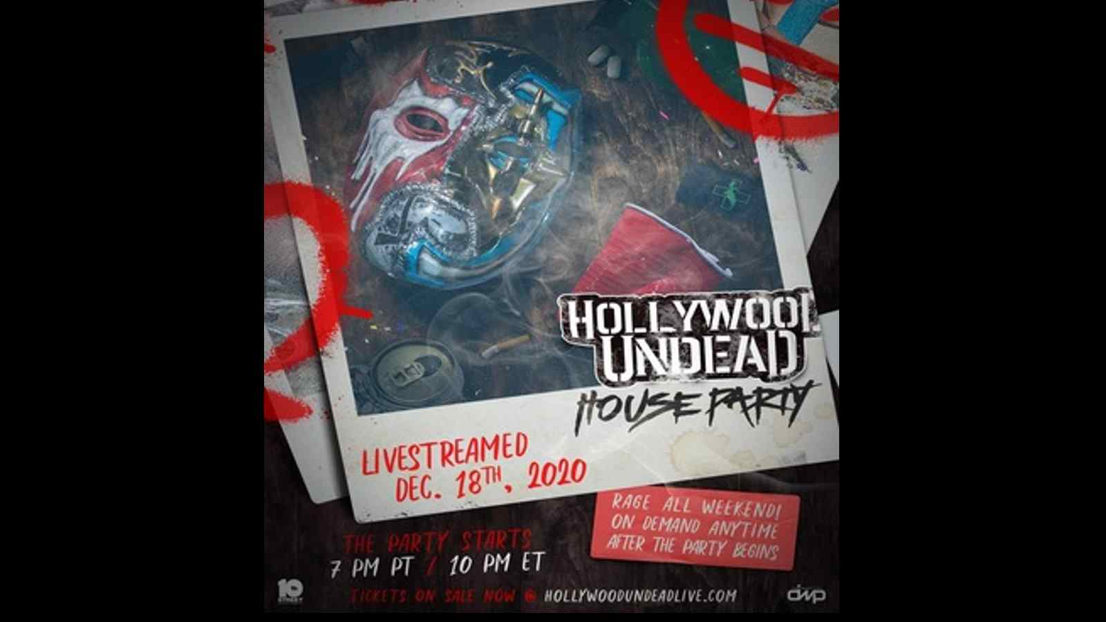 Hollywood Undead Announce House Party Streaming Event