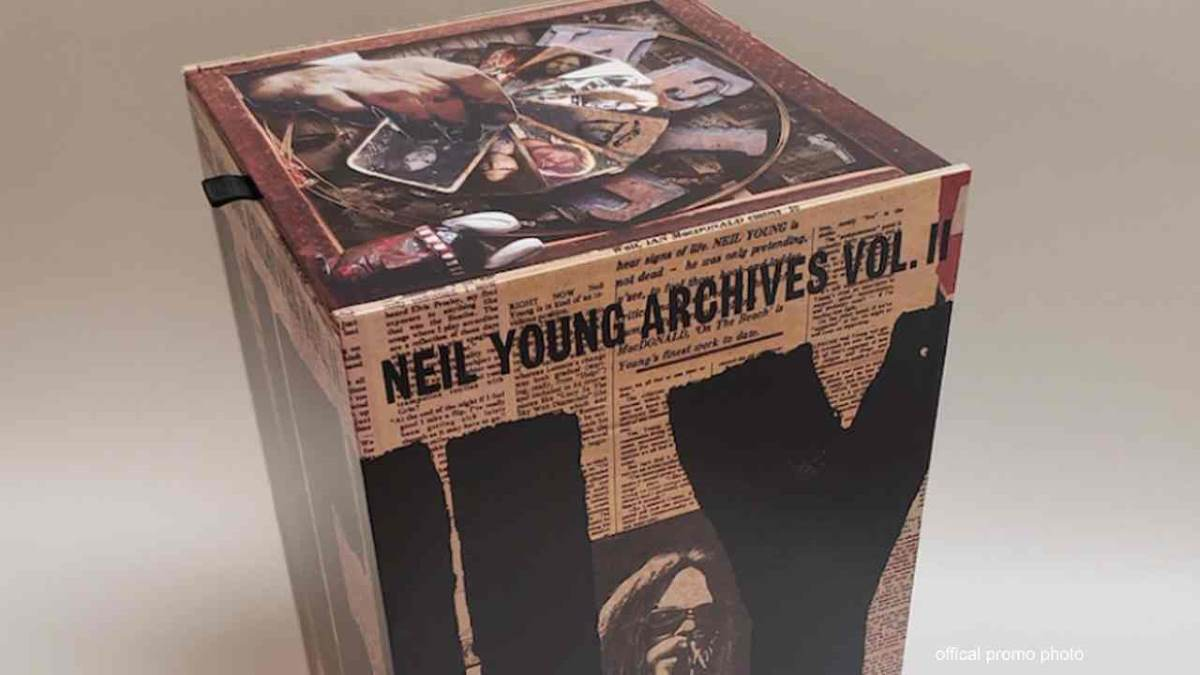Neil Young Releases Second Run Of Archives Volume 2 Project