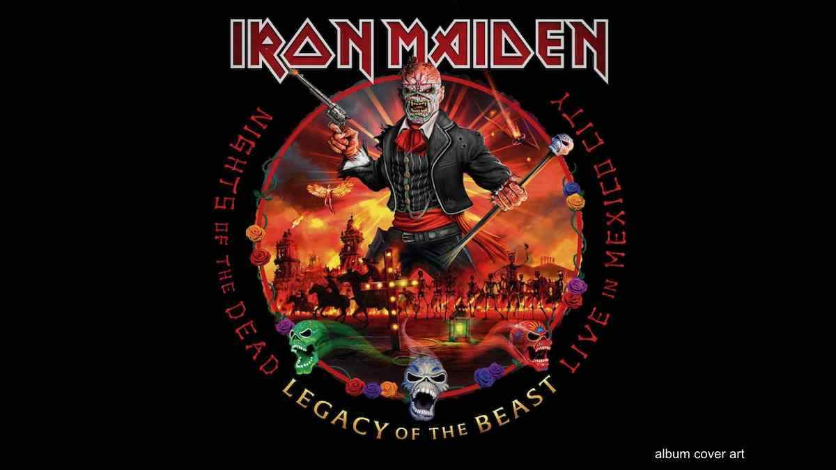 Iron Maiden Debut In Top 10 With Nights Of The Dead
