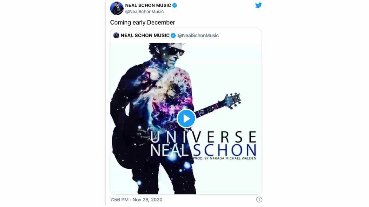 Journey's Neal Schon Releasing New Album In December