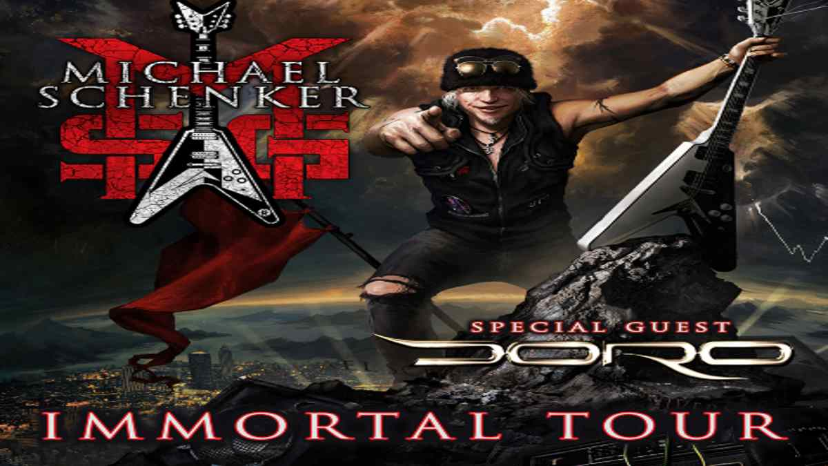 Michael Schenker Announces 50th Anniversary MSG Tour