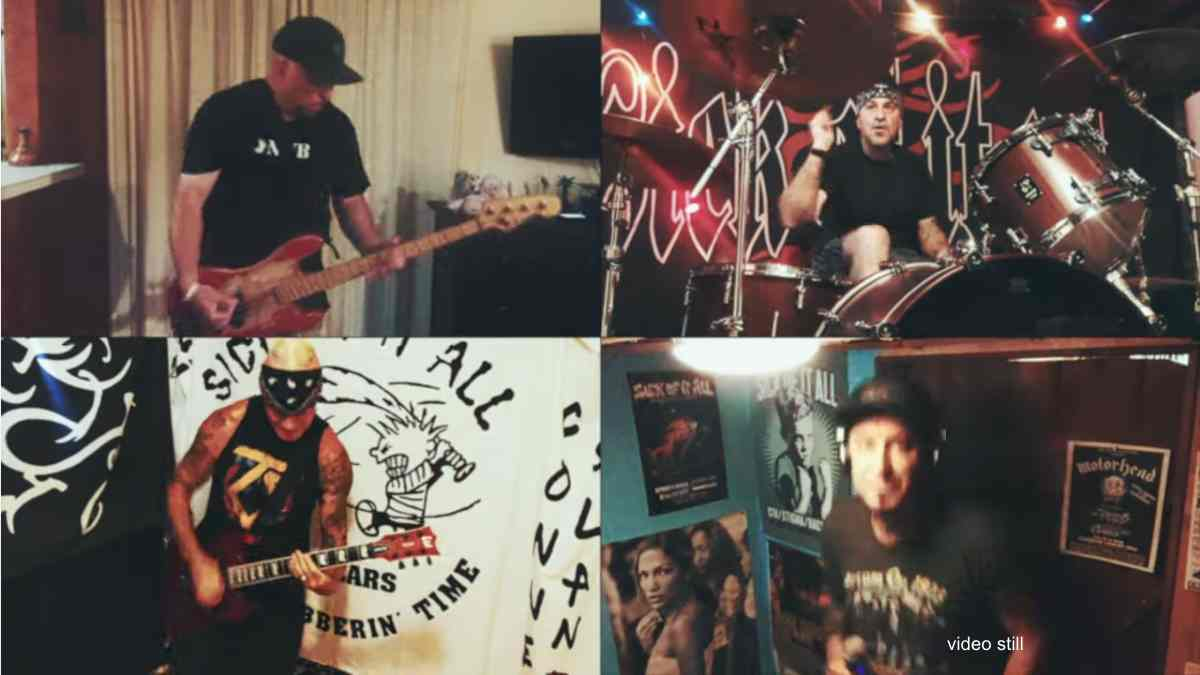 Sick Of It All Share 'The Bland Within' Quarantine Jam Video