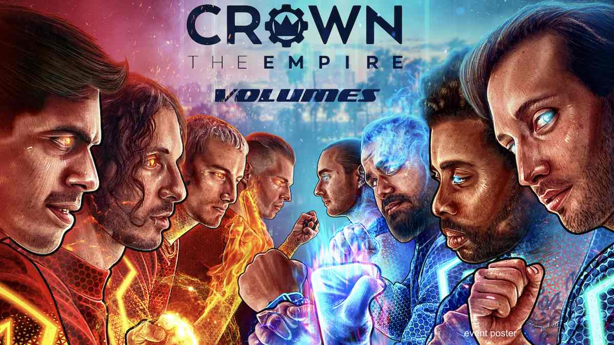 Crown The Empire and Volumes To Battle For Los Angeles