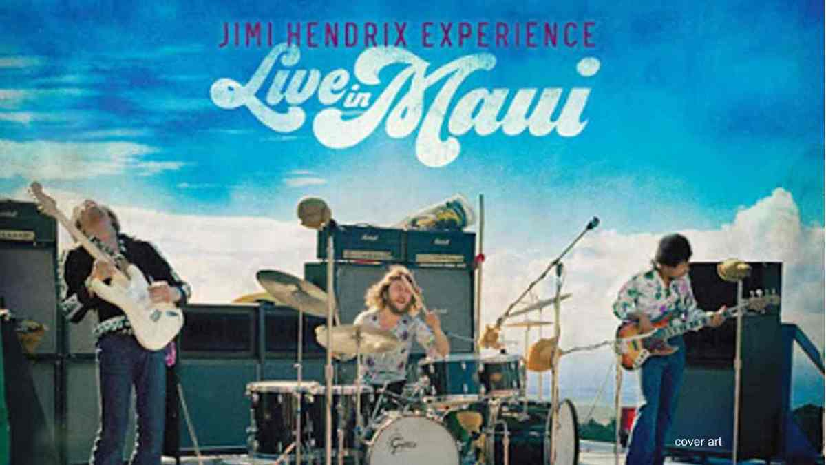 Jimi Hendrix Streams 'Foxey Lady' From 1970 Maui Performance