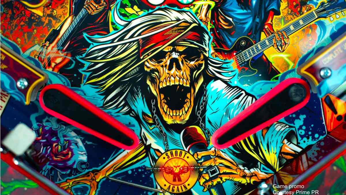 Guns N' Roses Announce Slash Designed 'Not In This Lifetime' Pinball Game
