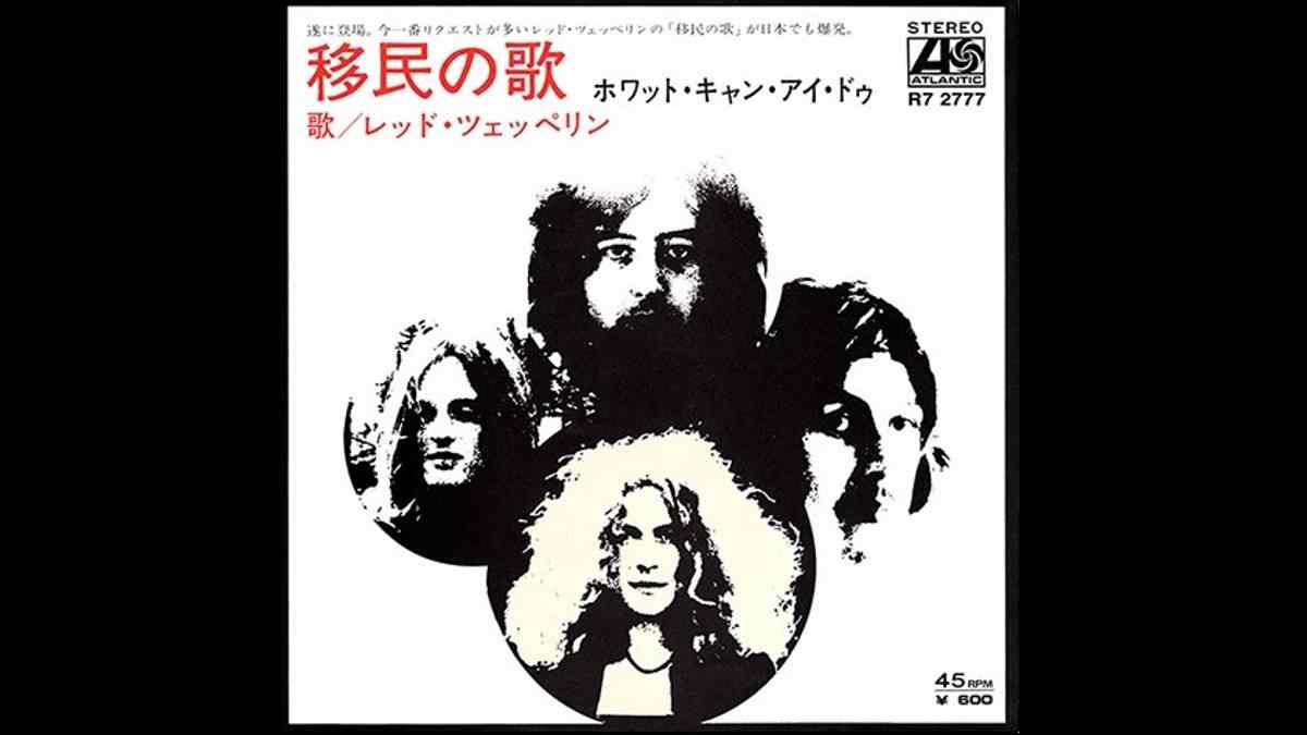 Led Zeppelin To Release 50th Anniversary 'Immigrant Song' Single