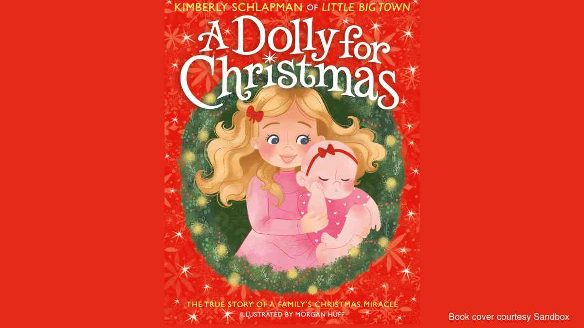 Little Big Town's Kimberly Schlapman Releases Children's Christmas Book