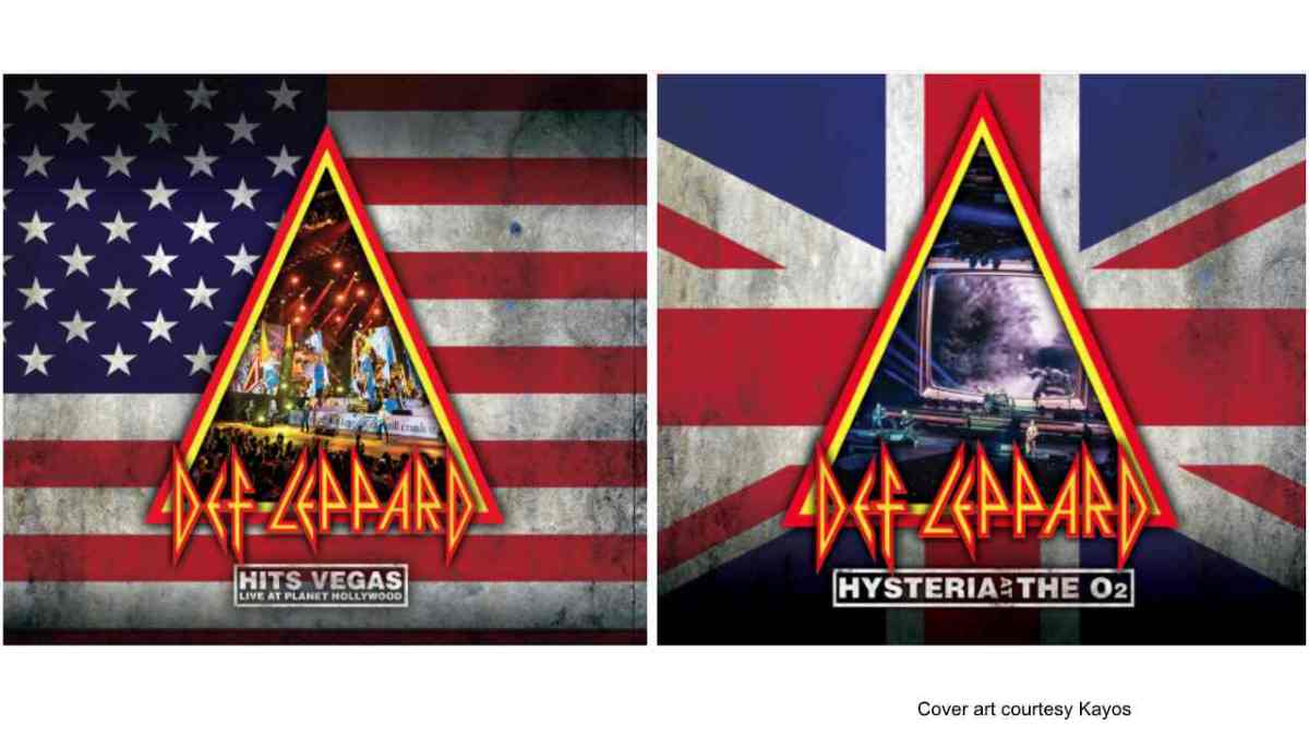 Def Leppard Release Live Video For Hits Vegas Preview