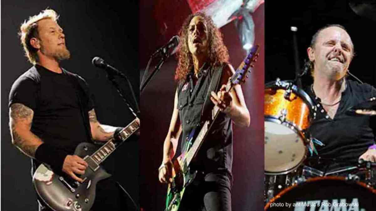 Metallica's Lar Ulrich Reveals His Favorite Music Icons